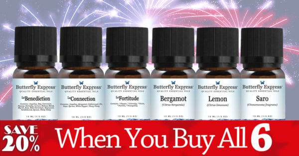 July Essential Oil Special