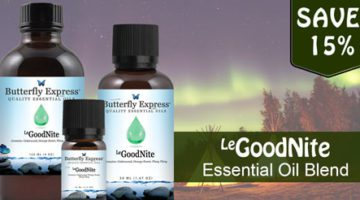 GoodNite Essential Oil Blend from Butterfly Essential Oils